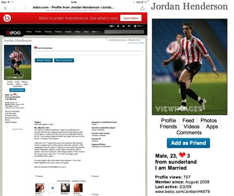 Search For On Bebo Henderson S Bebo Profile From 2008