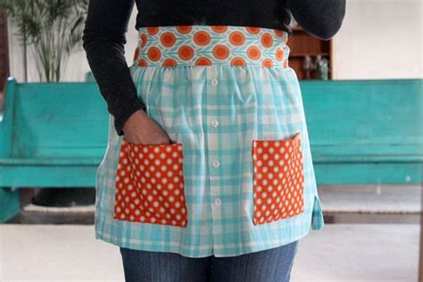 apron pattern made from man s shirt how to make aprons from shirts with pictures ehow