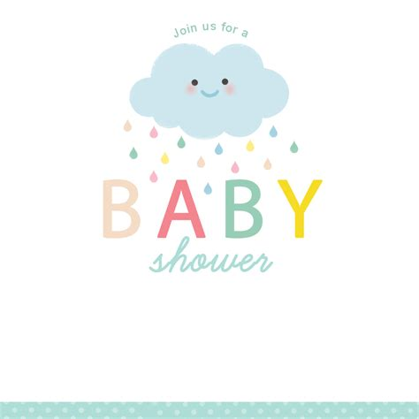 Free Baby Shower Invite by Free Baby Shower Invite Template Fwauk