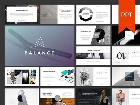 Balance Powerpoint Presentation Presentation Templates Creative Market Powerpoint Design