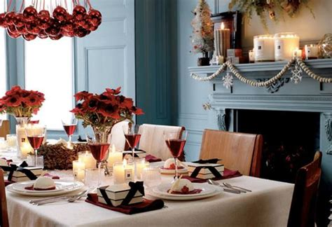 Decorating A Dining Room Buffet christmas dining room with red flowers terrys fabrics s blog