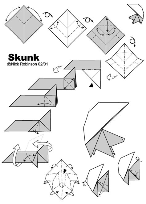 Origami Weapons Easy - skunk by nick robinson