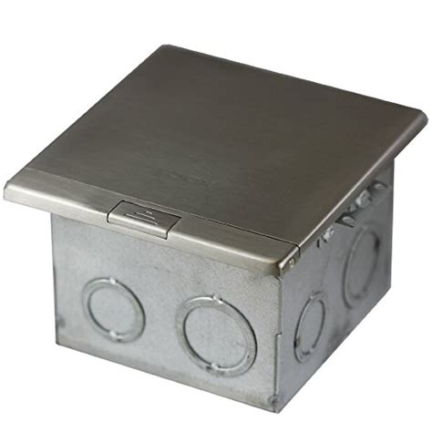 1 Stainless Steel Floor Box Kit by Topgreener 661301 Ss Floor Box 2 Kit 20a Ter