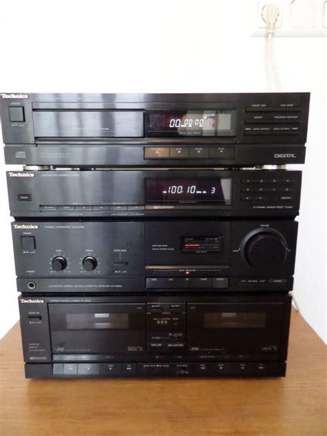 technics stereo set sax900l sl pj25 cd player catawiki