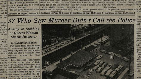 new york times forecast dial criminal misconduct the murder of kitty genovese