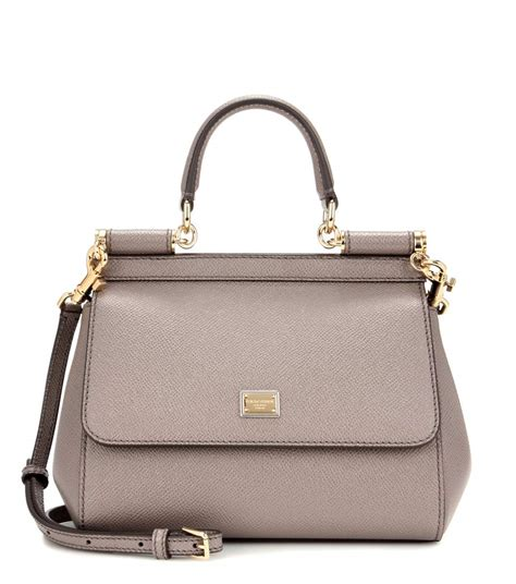 Dg Dolce And Gabbana Suzanne Satchel by Miss Sicily Small Leather Shoulder Bag Dolce Gabbana