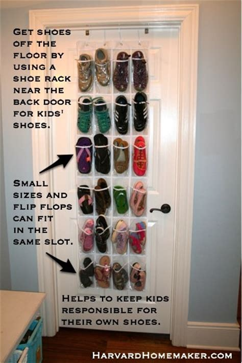 Put Your Shoes On The Rack by 100 Ideas To Help Organize Your Home And Your