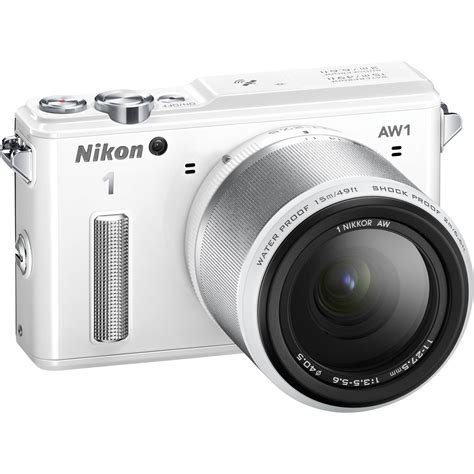 nikon 1 aw1 mirrorless digital with 11 27 5mm lens 27669