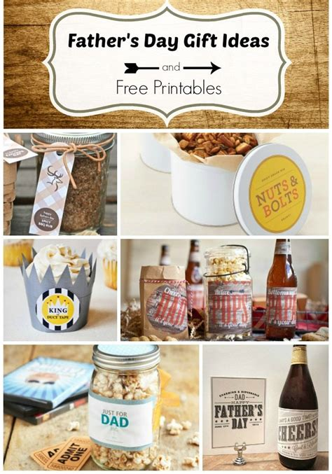 Handmade Fathers Day Gift Ideas - s day gift ideas and free printables whiteaker