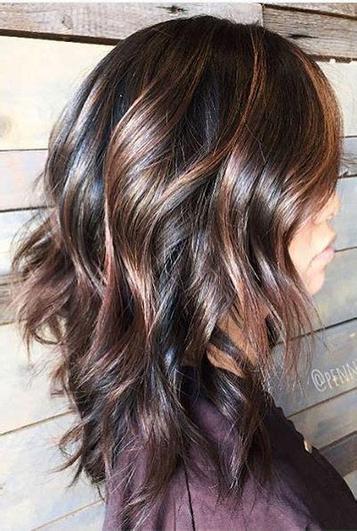 pinterest hair color highlights brunettes hair color idea dark chocolate brunette with warm