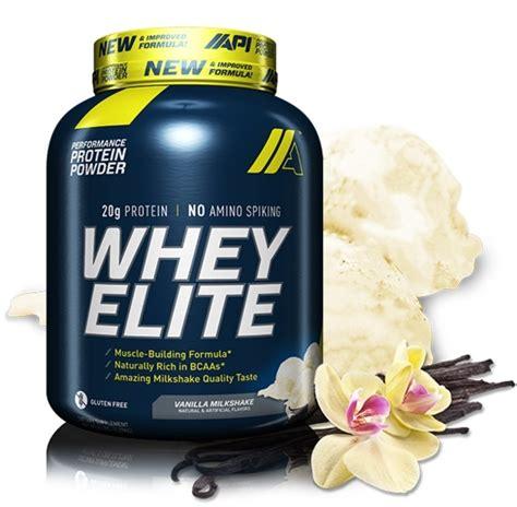 Api Whey Elite Buy Api Whey Elite Protein Powder Vanilla Milkshake 5lb