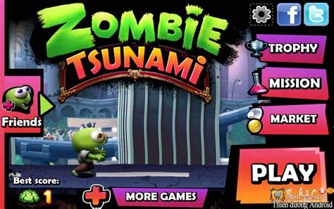 mod game zombie tsunami zombie tsunami hd mod coins gems game zombies nổi loạn