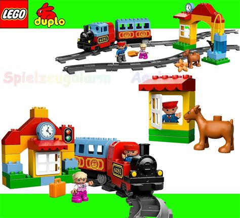 Lego Duplo Eisenbahn Set 223 plan toys set review questions track starter