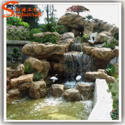 Inexpensive Backyard Designs Chinese Outdoor Garden Stone Fountains For Sale Fiberglass