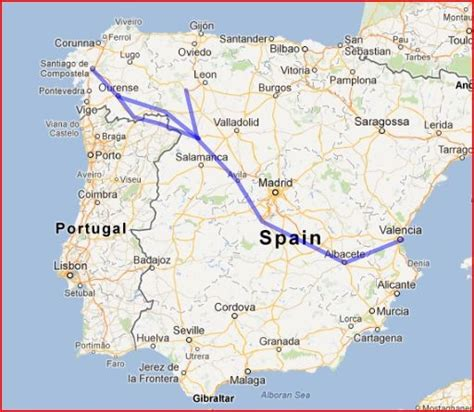 a pilgrim s guide to the camino finisterre santiago camino guide part 3 which pilgrimage route camino de