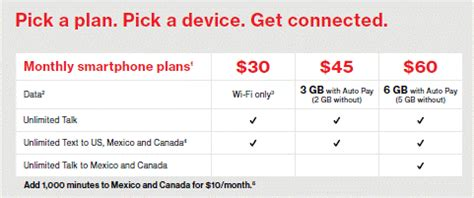 verizon unveils new pre paid plans ranging from 30 to 60