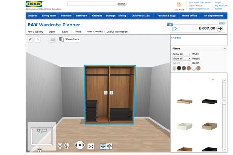 Kitchen Design Software Ikea new addiction the ikea pax wardrobe planner a model
