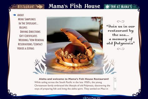 celebrity house hunting do they really buy mamas fish house menu 28 images sunset at s picture of s fish house paia