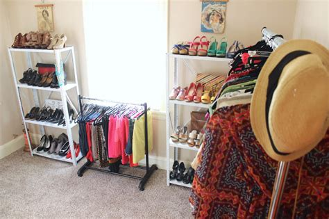 how to turn a walk in closet into a bedroom how to organize your closet and turn a spare room into a