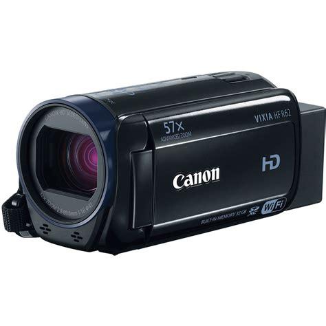 canon vixia canon 32gb vixia hf r62 hd camcorder 0278c004 b h photo