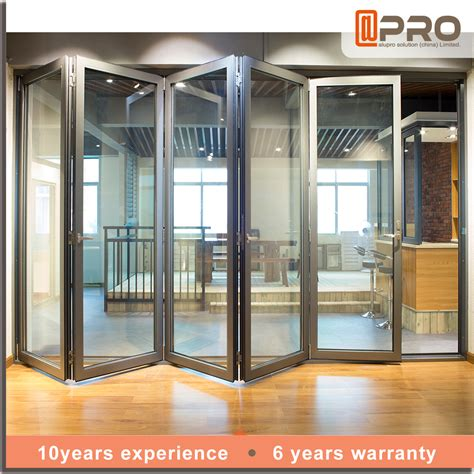 Exterior Bifold Doors Price Price China Door Frame Exterior Aluminum Tempered Glass Bifold Folding Door Buy Folding Door