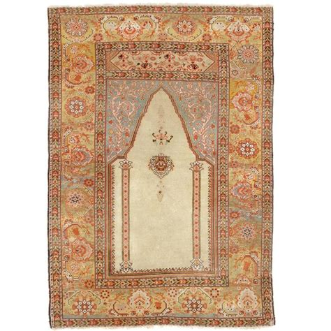 antique rug ottoman antique ottoman ghiordes prayer rug for sale at 1stdibs