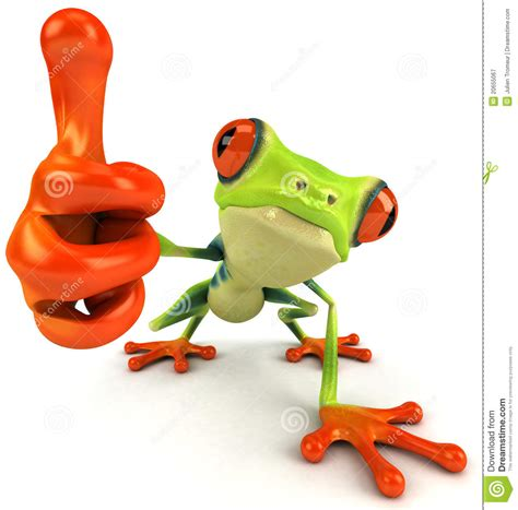 How To Make A 3d Frog Out Of Paper - frog royalty free stock photography image 20655067