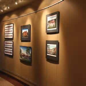Art Display Systems gallery artwork display and hanging systems contempo system