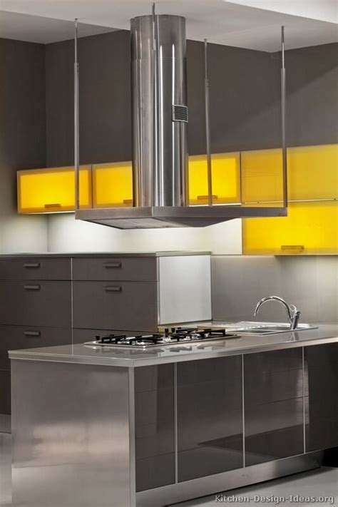 Grey And Yellow Kitchen Ideas by 607 Best Images About Modern Kitchens On Pinterest Dark
