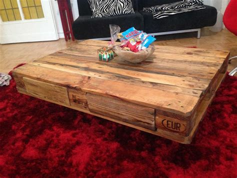 rustikales sofa pallet table coffee table from pallets diy