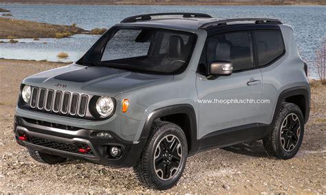 Jeep Models 2015 2015 Jeep Renegade 3 Door Rendering Autoevolution