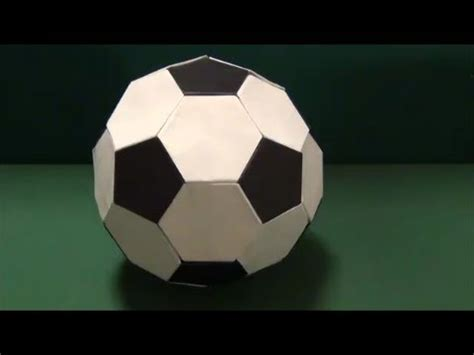 soccer origami サッカーボール 折り紙 quot soccer quot origami