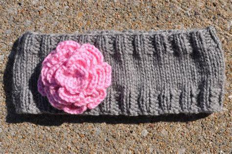 knitting pattern for simple headband demi knits a simple headband ear warmer flat knitting