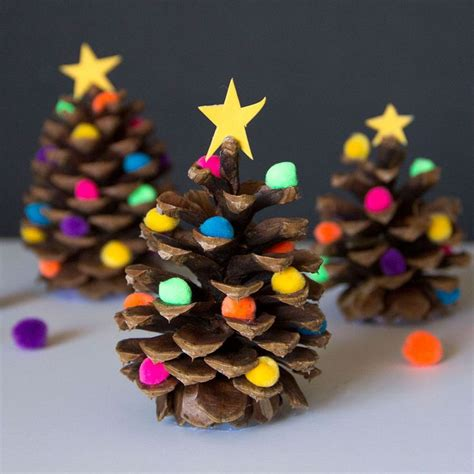 25 best ideas about pine cone christmas tree on pinterest