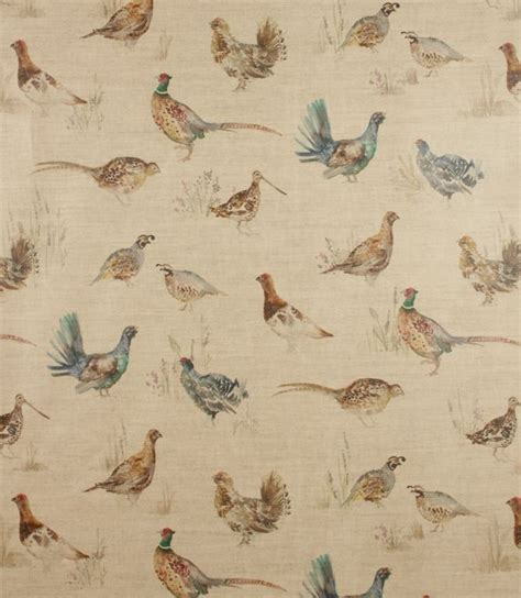 curtain fabric birds 17 best images about vintage hunting and fishing on