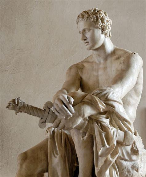 ares mars statue greek roman god of war figure bronze 12 5 polyvore the 7 douchiest greek gods