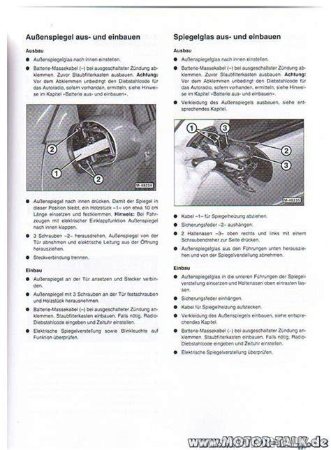 Motorrad Spiegel Wechseln Anleitung by Aussenspiegel Gesamt W211 Vormopf Au 223 Enspiegel Blinker