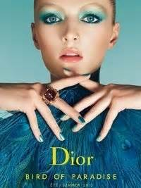 Check Out Diors Makeup Collection by Makeup Summer 2013 Birds Of Paradise