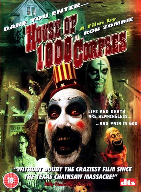 house of a thousand corpses cast house of 1000 corpses movie posters from movie poster shop