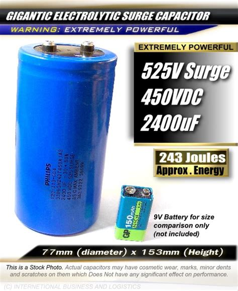 high voltage surge capacitors high voltage 525v s 450v 2400uf electrolytic surge capacitor power line filter ebay