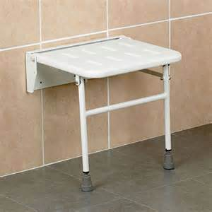 wall mounted folding shower seat with legs bathing aids wall mounted shower seats complete