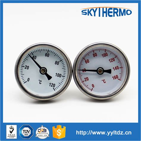 Termometer Oven Gas calibrated bimetal stove gas oven thermometer with