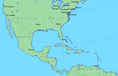 map of us and caribbean islands map of the caribbean islands and mexico mexico map
