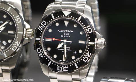 Certina C0114172103700 Swiss Made Original dive wednesday two swiss made affordable dive
