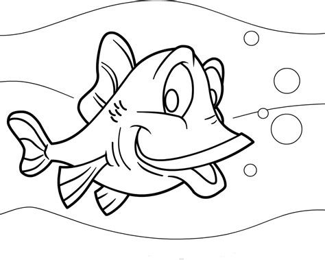 Free Printable Fish Coloring Pages by Free Printable Fish Coloring Pages For Animal Place