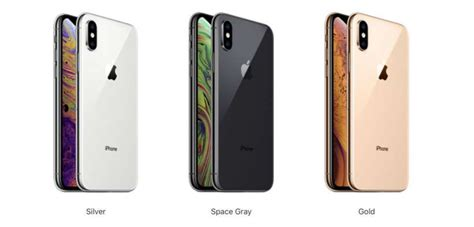 what colors does the iphone xs come in the iphone faq
