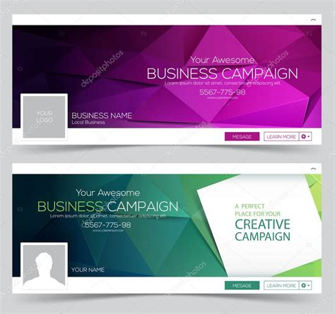 layout banner web web banner header layout template creative cover web