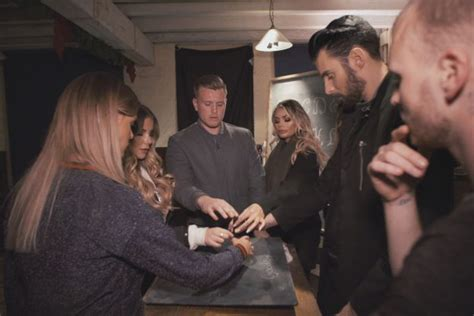 celebrity ghost hunt uk chloe sims walked out of filming on celebrity ghost hunt