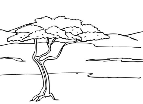 desenho paisagens paisagens para colorir