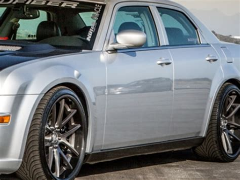 Chrysler 300 Side Skirt by 2005 2010 Chrysler 300 Mopar Carbon Fiber Xr5 Side Skirts